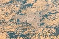 Ansicht von Paris aus dem Weltraum von Alexander Gerst/ESA